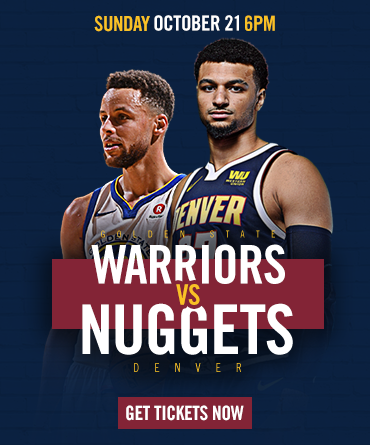 Warriors vs. Nuggets Tickets On Sale Now