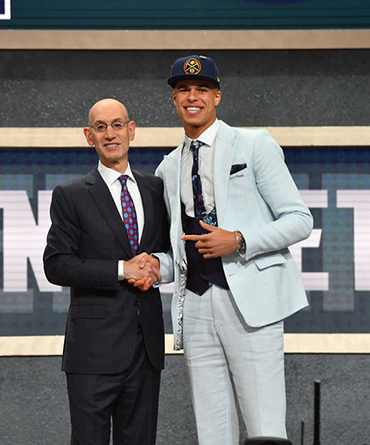 THE DENVER NUGGETS SELECT MICHAEL PORTER JR. WITH THE 14th PICK OF THE 2018 NBA DRAFT
