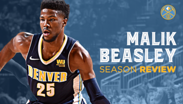 2017-18 Nuggets Player Breakdown: Malik Beasley