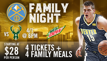 Nuggets Family Night