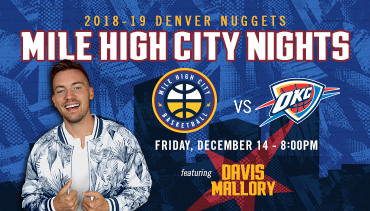 Mile High City Nights Schedule
