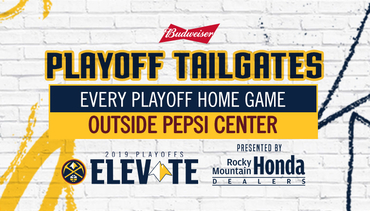 Denver Nuggets Host Playoff Tailgates Presented by Budweiser