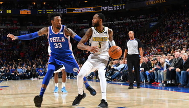 Sixers Turn Up Heat in Second Half, Rally Past Nuggets