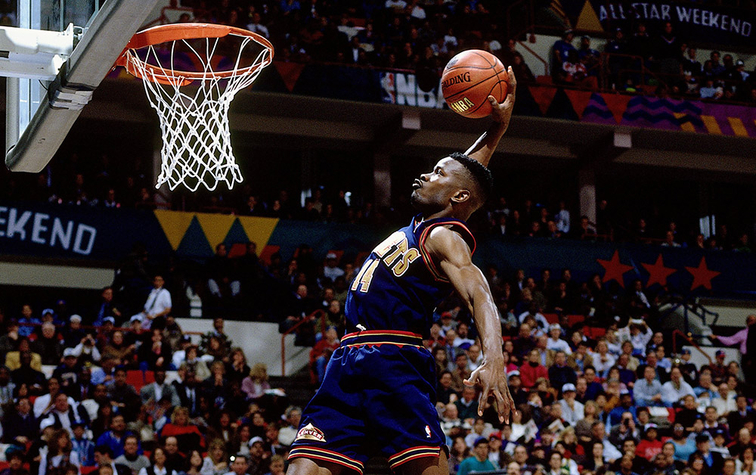 9b8782b125b History of the Slam Dunk Contest | Denver Nuggets