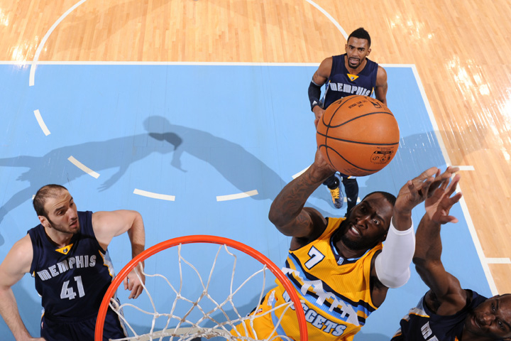 Grizzlies vs. Nuggets Gallery