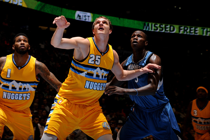 Timberwolves vs. Nuggets Gallery