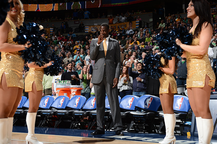 Denver Nuggets Dikembe Mutombo - Hall of Fame Class of 2015