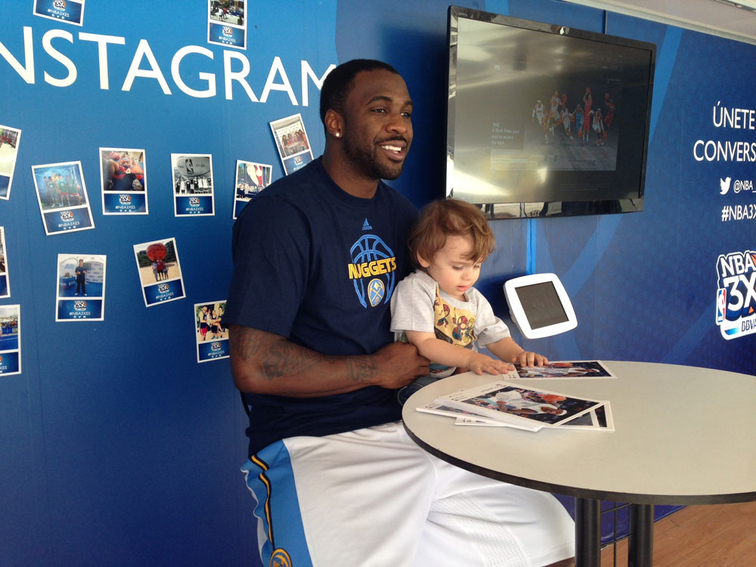Ty Lawson Visits Spain