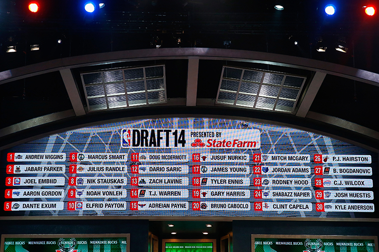 Selections from the 2014 NBA Draft