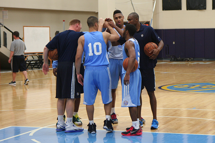 As part of their preparation for the 2014 NBA Draft, the Denver Nuggets have held four predraft workouts featuring 18 players.