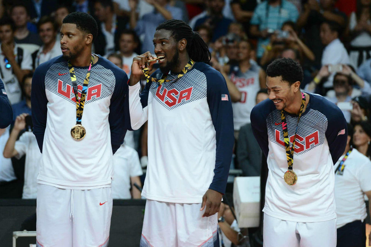 Kenneth Faried and Team USA complete perfect gold-medal run