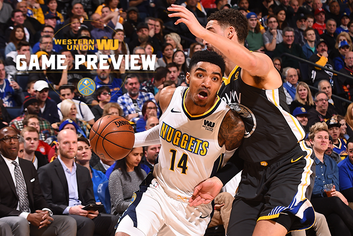 Game Preview: Golden State Warriors vs Denver Nuggets