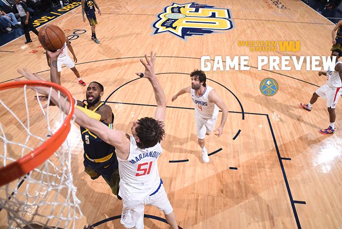 Nuggets stay in postseason hunt with rout of Clippers
