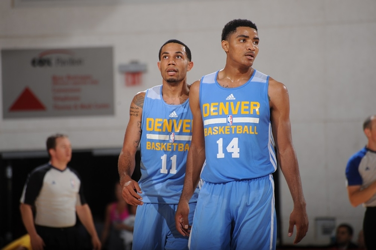 Nuggets plan on using Gary Harris at point guard in summer finale