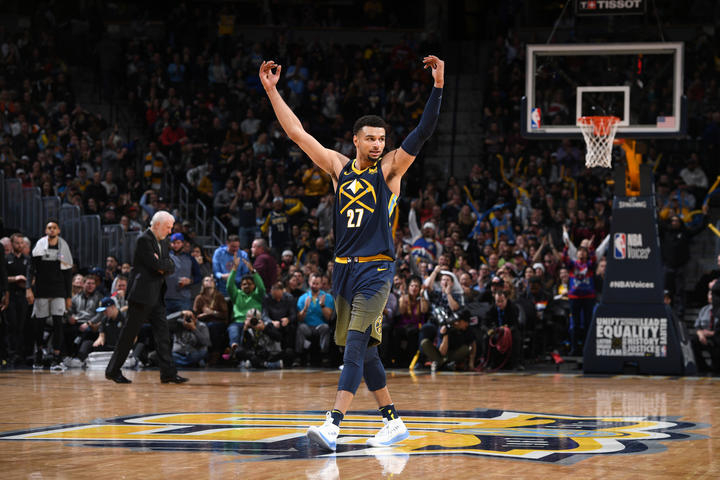 Jokic's triple-double leads Nuggets over Spurs