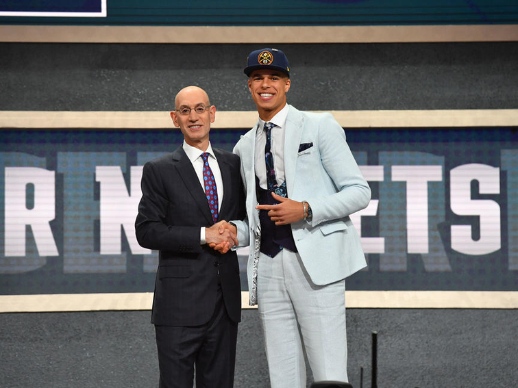 THE DENVER NUGGETS SELECT MICHAEL PORTER JR. WITH THE 14th PICK OF THE 2018  NBA DRAFT e1c951a46