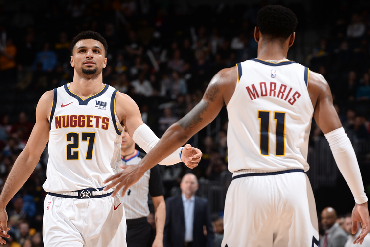 44ef1be61577 Nuggets Find Success in Morris-Murray Pairing