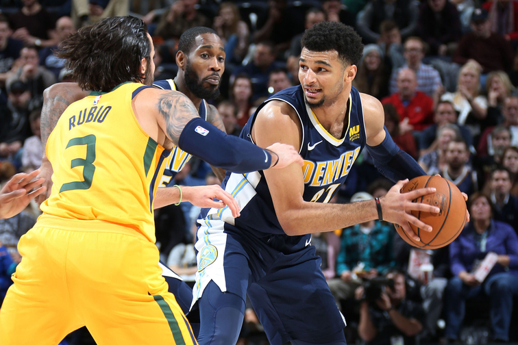Nuggets fall to Jazz