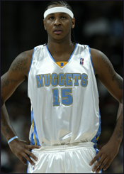 c92870a0d9c Anthony Ranks Eighth in NBA Jersey Sales | Denver Nuggets