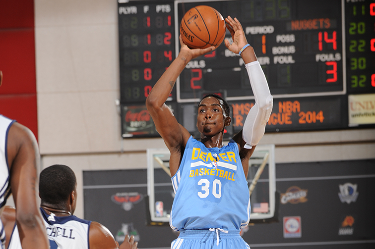 Denver Nuggets forward Quincy Miller relieved he didn't break ankle