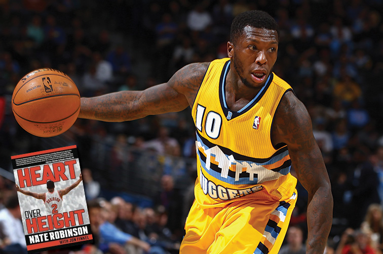 Nate Robinson shares his journey of overcoming the odds in his new book, 'Heart Over Height'