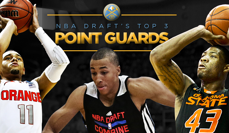 NBA Draft's Top 3 Point Guards