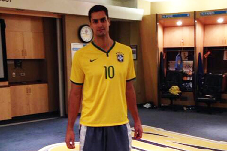 Nuggets assistant strength coach enjoys seeeing World Cup take place in native Brazil