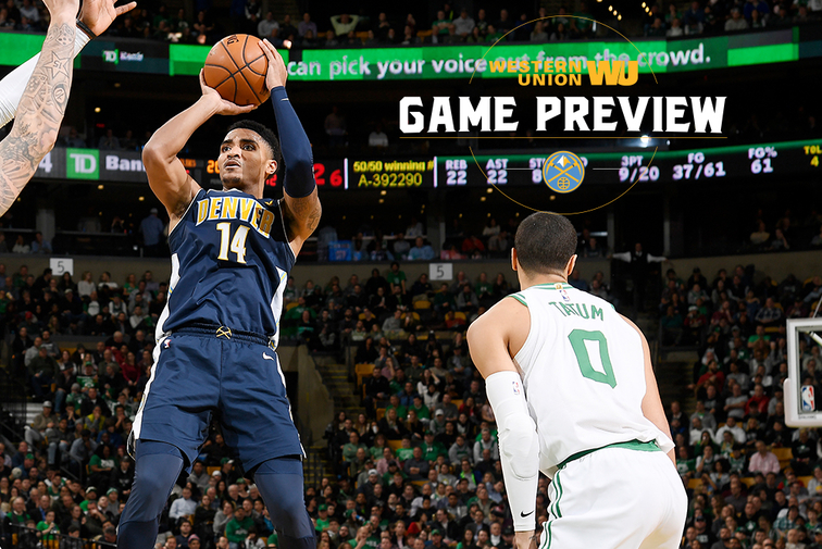Nuggets at Spurs preview