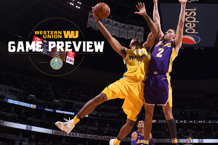 Game Preview Nuggets Brace for Test from Vastly Improved Lakers