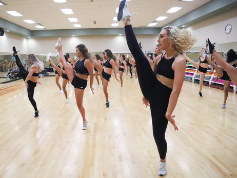 Denver Nuggets Dancers Finalist's Training Camp