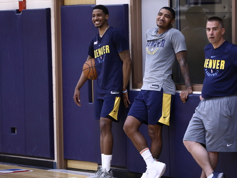 Michigan's Charles Matthews In For Pre-Draft Workout, Chats With Gary Harris