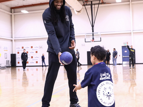 Nuggets Host Clinic for Special Olympics Athletes