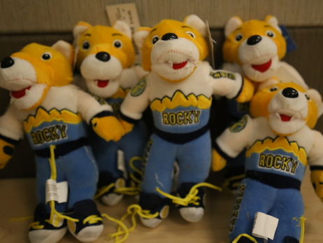 Join Rocky at the Rocky Mountain Hospital for Children Teddy Bear Patrol