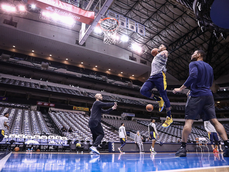 Shootaround in Dallas