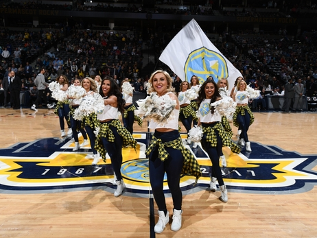 Denver Nuggets Dancers Photos: April 23