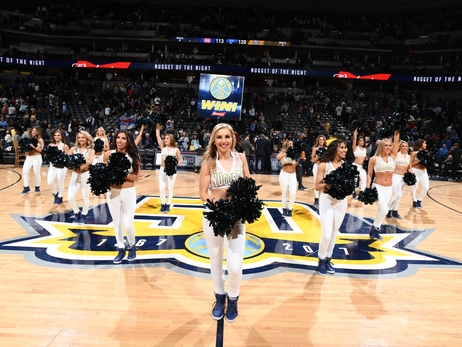 Denver Nuggets Dancers Photos: April 16
