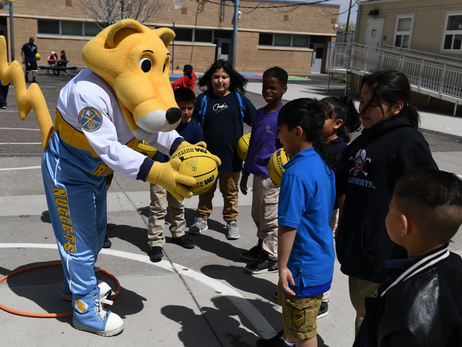 Western Union Jr. Nuggets at Denver Public Schools