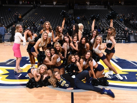 Denver Nuggets Dancers Photos: April 30