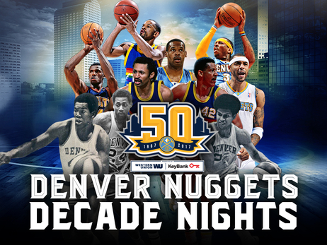 Nuggets 50th Anniversary Decade Nights