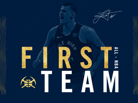 Denver Nuggets' Nikola Jokić selected to All-NBA First Team