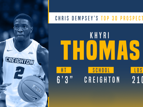 Prospect Preview: Khyri Thomas