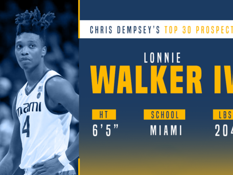 Prospect Preview: Lonnie Walker IV