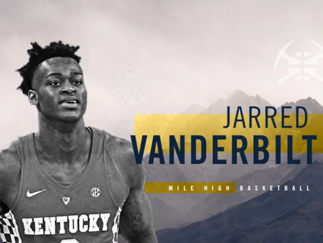 Nuggets 2018-19 Player Previews: Jarred Vanderbilt
