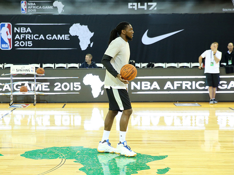 Kenneth Faried in Africa