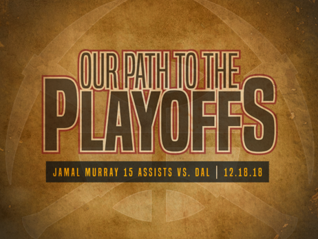 Our Path To The Playoffs: Murray Moves The Ball In Career-Best Game