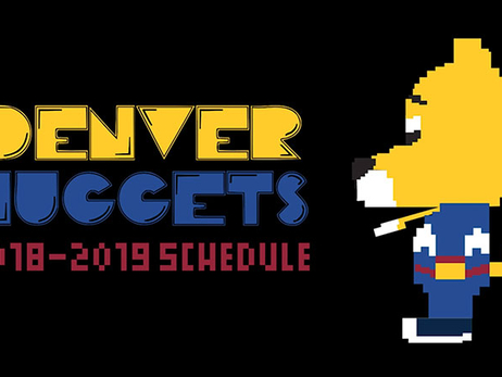 Nuggets Get Creative With Schedule Release
