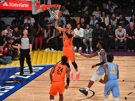 Jamal Murray Scores 21 in Efficient Rising Stars Performance