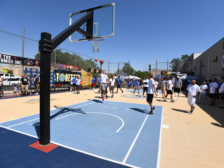 Denver Nuggets join Cope Boys and Girls Club for Hoops for Peace