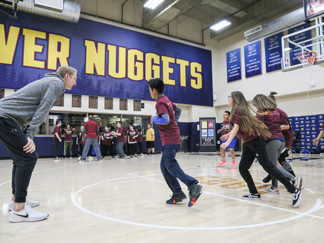 Nuggets Host TeamFIT