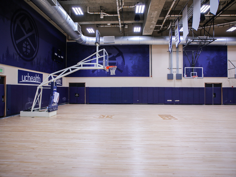 UCHealth Practice Court Gets New Look